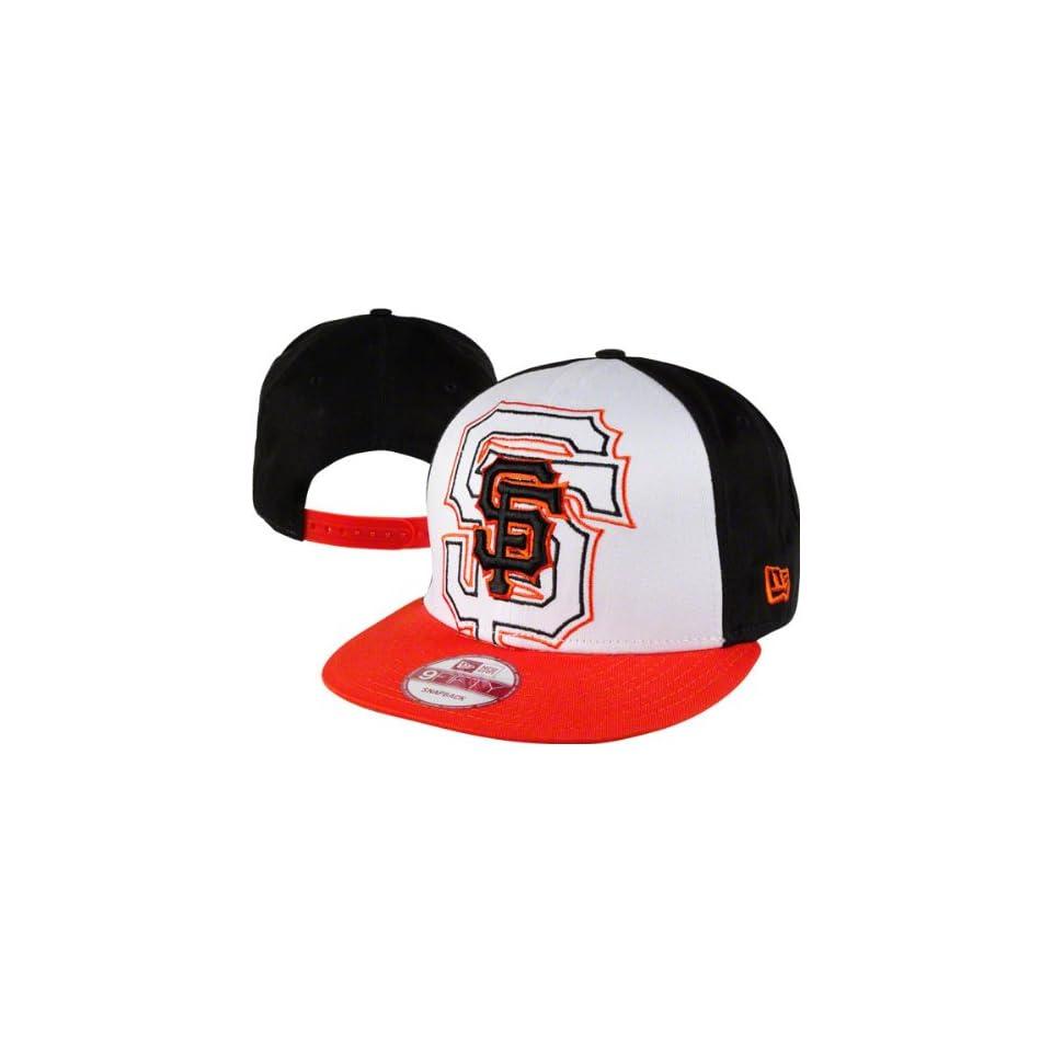 San Francisco Giants New Era 9FIFTY Little Big Pop Snapback Adjustable Hat
