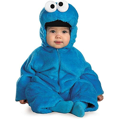 Cookie Monster Deluxe Infant Costume - 12-18 Months