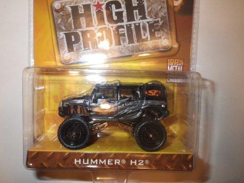 2005 Wave 1 Jada Toys 1:64 Dub City High Profile - Black Hummer H2 (Jada Toys High Profile 1 64 compare prices)