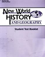 New World History and Geography 6: Teacher Key for Student Test Booklet