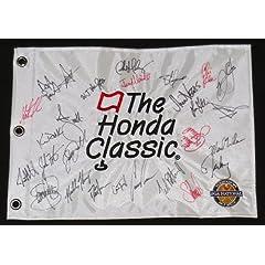 2014 Honda Classic Autographed Golf Flag - Adam Scott, Luke Donald, Nick Watney, etc. by BallPark Sports LLC.