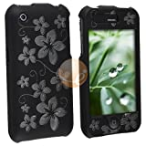 Laser Black Hawaii Clip On Crystal Case Compatible With Apple iPhone 3G / A ....