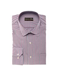 Today's Men Men's Formal Shirt Double Fused Collar ( Multi-Coloured ) - B00RYVOSXS