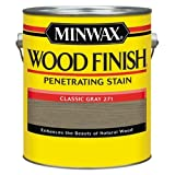 Minwax 710480000 Wood Finish Penetrating Stain, gallon, Classic Gray (Color: Classic Gray, Tamaño: Gallon)