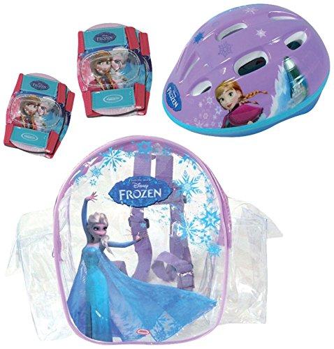 Frozen - Bolsa con casco, rodilla y codo pads (D'Arpèje OFRO004)