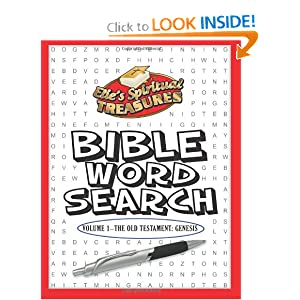 Elle's Spiritual Treasure Bible Word Search