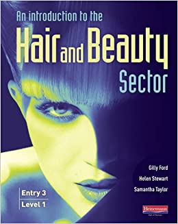 beauty hair sector level books introduction amazon hairdressing student flip front entry