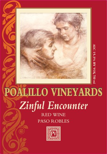 Nv Poalillo Vineyards Zinful Encounter Zinfandel Paso Robles 750 Ml