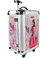 Nicole Lee Priscilla 21 Inch Rolling Aluminum Case Carry-On