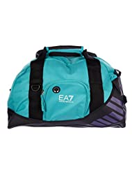 Emporio Armani EA7 women's fitness gym sports cross body bag Nylon bicolor black