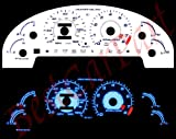 93-97 Ford Probe 2.0l L4 / LX White Face Glow Gauges