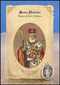 Amazon.com : 6pc Patron Saints of Healing St. Nicholas