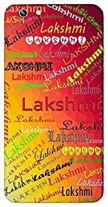 Lakshmi (Popular Girl Name) Name & Sign Printed All over customize & Personalized!! Protective back cover for your Smart Phone : Samsung Galaxy A-5