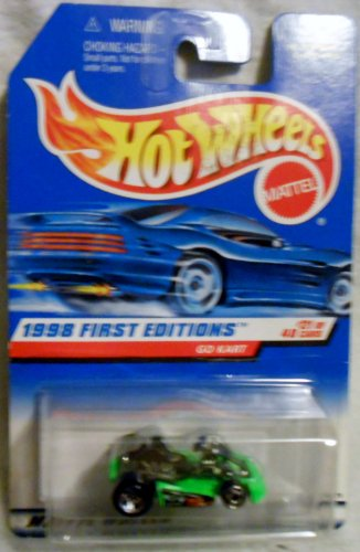 Hotwheels 1998 First Editions Go Kart #21/40 Col#651 - 1