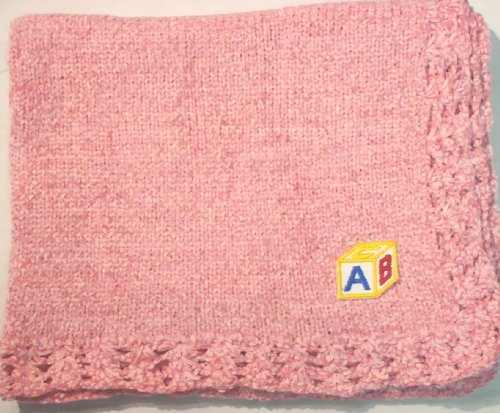 Hand Knitted Baby Blanket back-338573