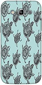 Snoogg seamless pattern with turtles seamless pattern can be used for wallpaper Hard Back Case Cover Shield For Samsung Galaxy Grand Quattro Win I8550