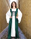 Medieval Renaissance Fair Maiden&#8217;s Dress (X-Large, Green) Picture