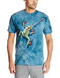 The Mountain Frog Tongue T-Shirt, 3X-Large, Blue