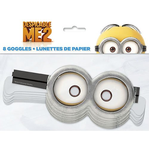 Despicable Me Paper Goggles [8 Per Pack] - 1