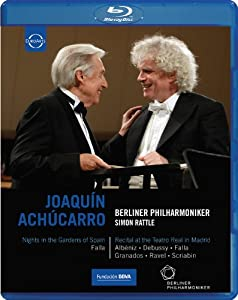 Berlin Philharmonic Orchestra Achucarro Blu-ray 2011 from EUROARTS