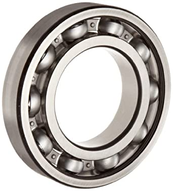 FAG 6210-C3 Deep Groove Ball Bearing, Single Row, Open, Steel Cage, C3