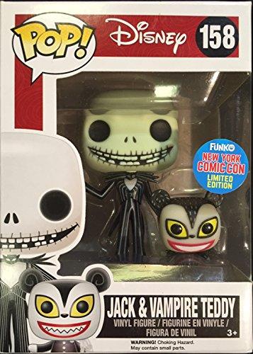 Funko - Figurine Nightmare Before Christmas - Jack With Vampire Teddy NYCC 2015 Pop 10cm - 0849803070274