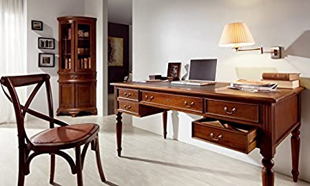 Chippendale Writing Desk made of Mahogany : Collection ANTONIETA VICTORIAN