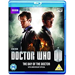Doctor Who-50th Anniversary Release [Blu-ray]