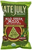 Late July organic Snacks Mild Green Mojo Multigrain Tortilla Chips, 5.5-Ounce (Pack of 6)