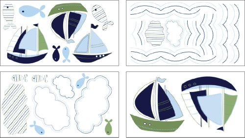 Nautica Zachary Wall Decals