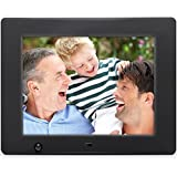 NIX 8 inch Hi-Res Digital Photo Frame with Motion Sensor (X08D)
