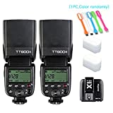 2X-Godox-TT600S-HSS-Built-In-24G-Wireless-X-System-Flash-Speedlite-for-Sony-Multi-Interface-MI-Shoe-CamerasGodox-X1T-S-Remote-Trigger-Transmitter-2X-Diffuser-HuiHuang-USB-LED-free-gift