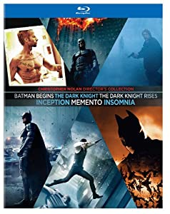Christopher Nolan Director's Collection (Memento / Insomnia / Batman Begins / The Dark Knight / Inception / The Dark Knight Rises) [Blu-ray] at Gotham City Store