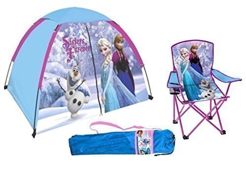 Home ...  sc 1 st  Epic Kids Toys & Disney Frozen Kids Indoor / Outdoor Play Tent u0026 Folding Camp Chair ...