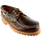 Mens Timberland Heritage Classic Lug Leather Lace Up Boat Shoe