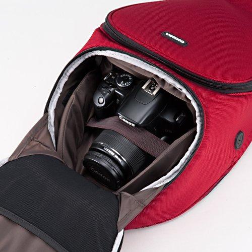 Cocoon Digital SLR Sling 一眼レフカメラバッグ 「GRID-IT! 」付属 ブラック&イエロー CCS700BY