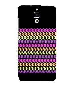 Wave Pattern Design Cute Fashion 3D Hard Polycarbonate Designer Back Case Cover for Xiaomi Redmi Mi 4 :: Redmi Mi 4