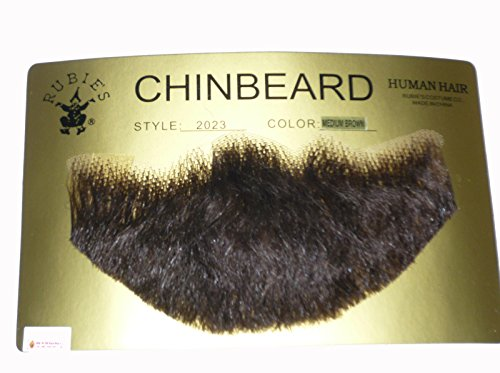 Human Hair Chin Beard Human Hair Goatee 2023