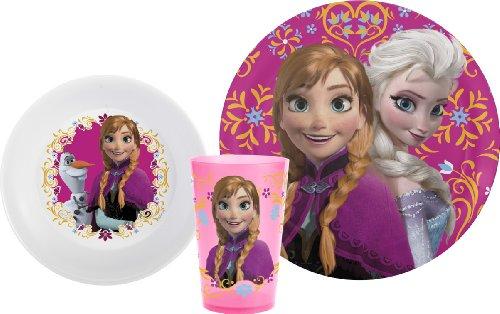 Disney'S Frozen Mealtime 3-Piece Set By Zak Designs, Plate, Bowl & Tumbler front-910438
