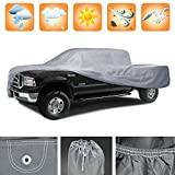 3 Layer Premium Pick Up Truck Cover Outdoor Tough Waterproof Lining - XL Size