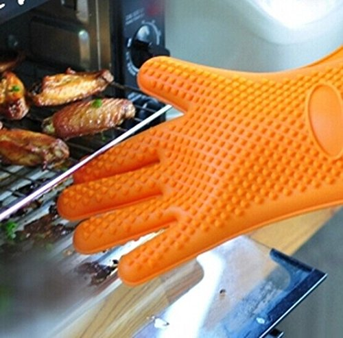 Kitchen Silicone Non-Slip Insulated Gloves For Microwave, Baking 1Pc