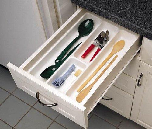 Rev a shelf Utility Tray, MEDIUM, WHITE