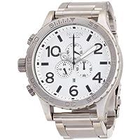 NIXON (ニクソン) 腕時計 THE 51-30 CHRONO WHITE NA083100-00 メンズ [正規輸入品]