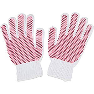 Pet Grooming Gloves for Cats, Left and Right Hand Pair with Gentle Soft Rubber Tips for Sensitive Skin, Ideal for Short Hair Pets