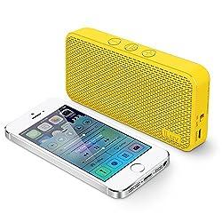 iLuv Aud Mini Portable Bluetooth Speakers (Yellow)