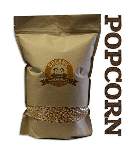 Organic Merchants Organic Popcorn - 6lb Bag - Kosher, Non Gmo, Gluten Free