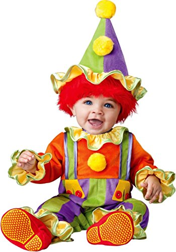 Cuddly Clown Baby Costume - 12-18 months