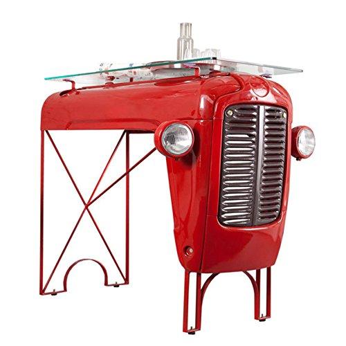 Umgebauter-TRACTOR-OLDTIMER-BAR-Tresen-Bistrotisch-Tisch-recycelter-Traktor-Oldtimer-restauriert
