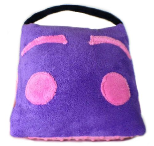 """Glohug: Tablet Case & Travel Pillow Case For Kids Use With Ipad Mini,Nexus 7 Amazon Kindle Fire Hd,Nook, Any 7"""" Tablet (Purple/Pink) front-998983"""