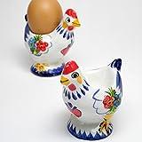 ポルトガル製な 陶器 エッグスタンド Good Morning! 朝食 エッグカップ たまご立て pif-612ch